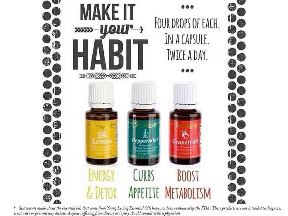 Essential Oils For Weight Balance Young Living Essential Oils For