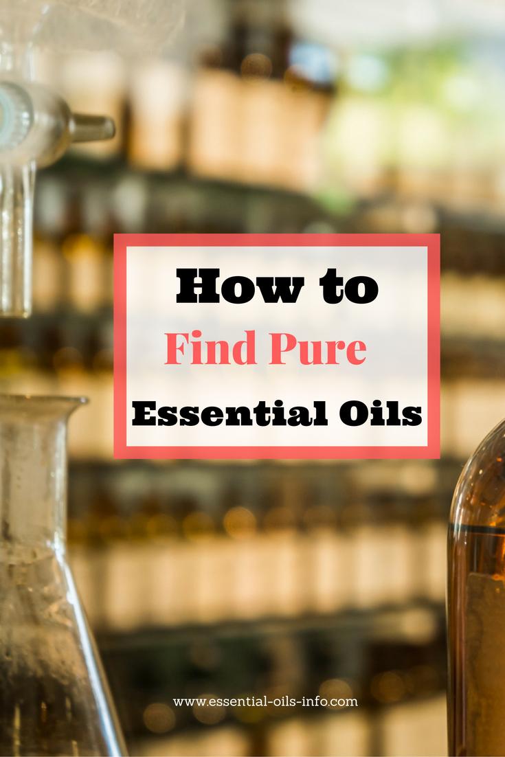 pure essential oils