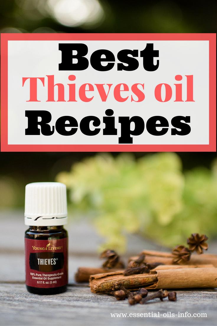 thieves oil recipes
