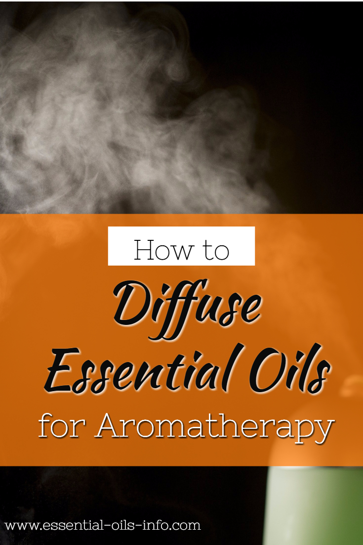 aromatherapy diffuse