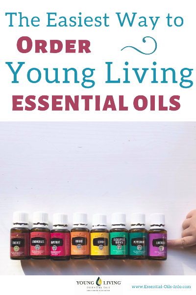 how to order Young Living