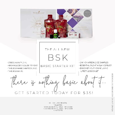 Young Living Basic Kit Contents