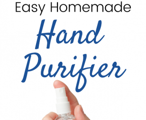 Easy Homemade Hand Purifier